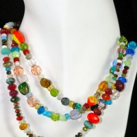 Assorted Crystal Necklace