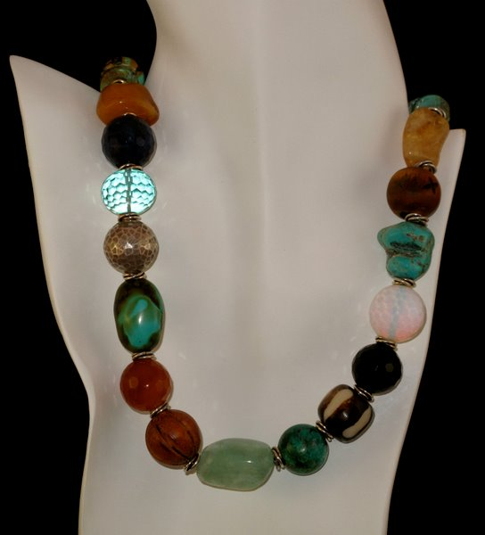 precious semiprecious product lava stones necklace and chevere necklaces semi jr