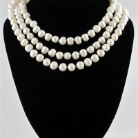 Long Fresh Water Pearl Necklace