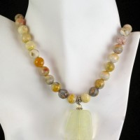 Crazy Agate Necklace