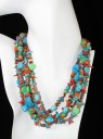 5 Strand Semi-Precious Necklace